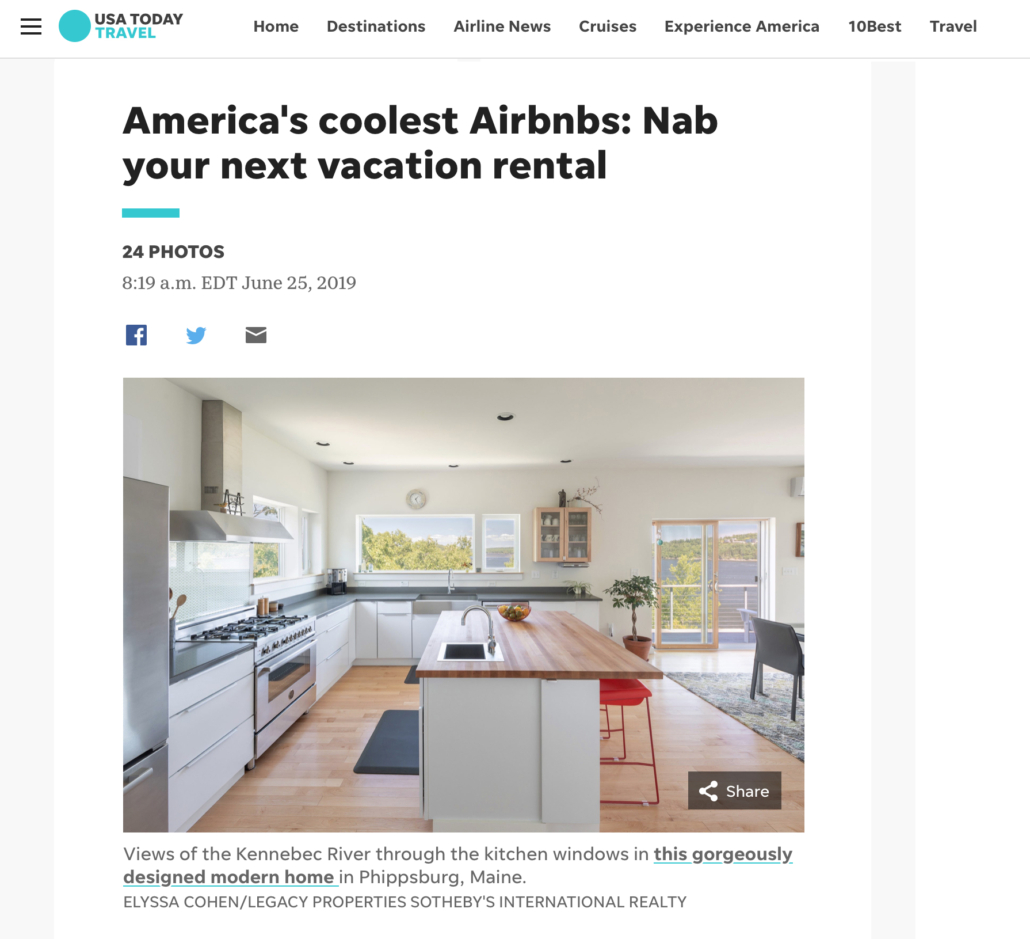 USA Today Americas coolest Airbnbs Nab your next vacation rental