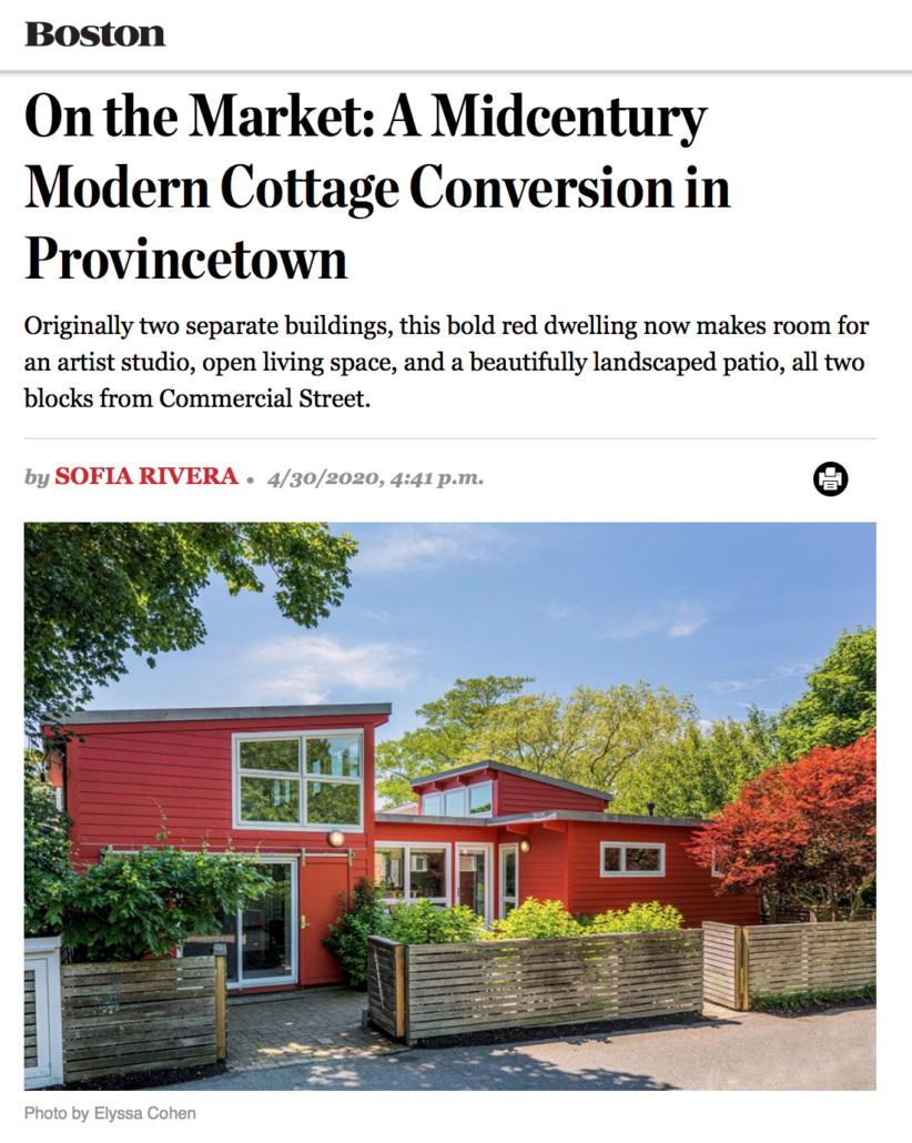 On the Market: A Midcentury Modern Cottage Conversion in Provincetown